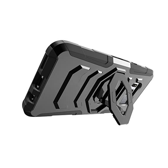 TurtleArmor | Compatible with Samsung Galaxy S8+ Case | S8 Plus Case | G955 [Octo Guard] Dual Layer Case Holster Belt Clip Sturdy Kickstand Cover - 3