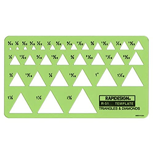 triangle template amazon com