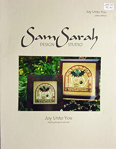(Joy Unto You Cross Stitch Pattern - SamSarah Design Studio - #8909)
