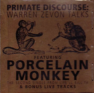 Primate Discourse + Porcelain Monkey