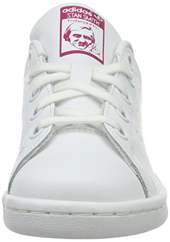 Scarpe – Adidas Stan Bambini white Basse Ftwwht C bopink Multicolore Da Smith Unisex Ginnastica ftwwht xrrnq4