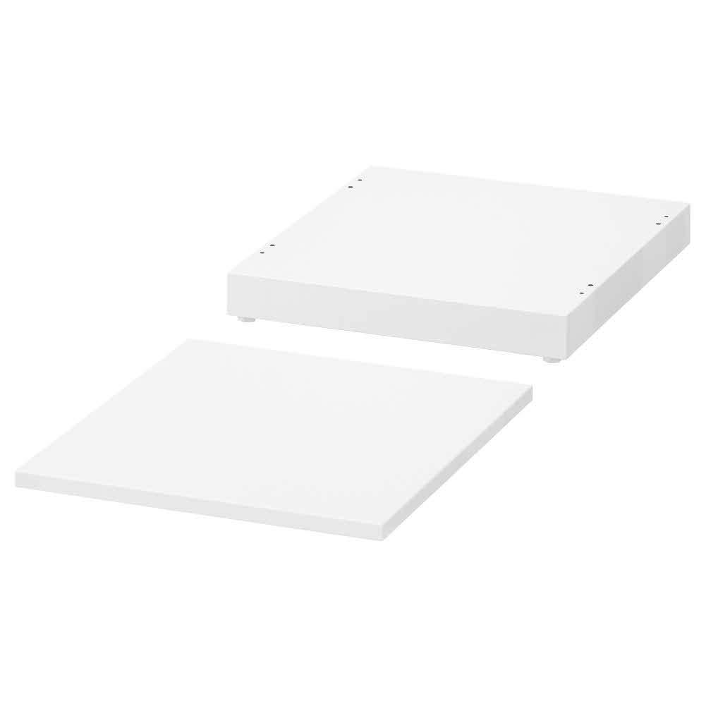 NORDLI Top and Plinth, White