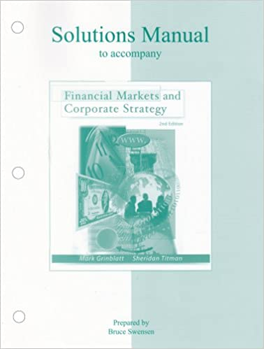 Amazon financial markets and corporate strategy solutions financial markets and corporate strategy solutions manual 2nd edition fandeluxe Images