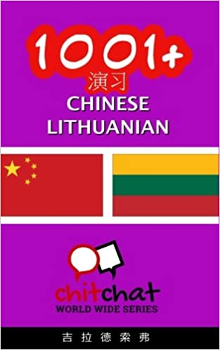 Book 1001+ Exercises Chinese - Lithuanian