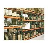 Pallet Rack Netting, One Bay, 1-3/4'' Square Mesh Netting