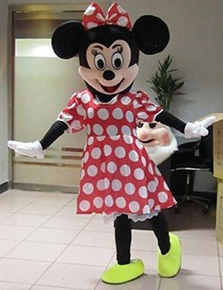 [Mascot Costume Character Adult Size for Christmas Halloween (B)] (Mickey And Minnie Costumes Adults)