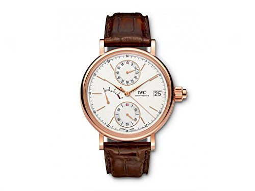 NEW NEW IWC Portofino Hand-Wound Monopusher Silver Dial Pink Gold 45mm IW515104