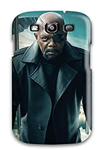 New Arrival Galaxy S3 Case Nick Fury Captain America The Winter Soldier Case Cover