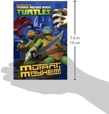 Mutant Mayhem! (Teenage Mutant Ninja Turtles): Amazon.es ...