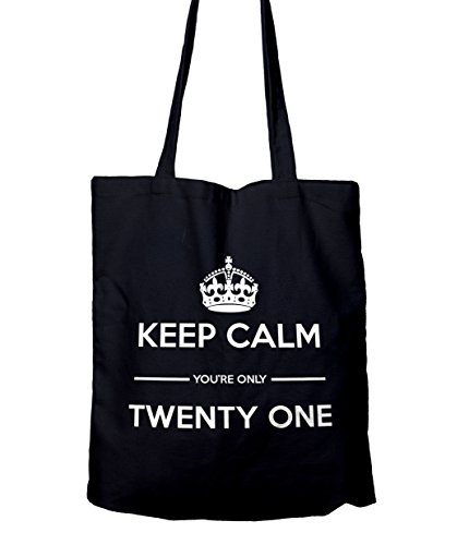 Keep Gift Shopping Tote 21 Only You're Navy Bag Calm qcwZraqPC