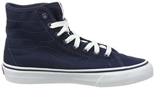 Blu Blues Vans Hi Canvas Dress Alte Scarpe U Sk8 da Decon True White Unisex Ginnastica RzaRCw