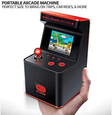 My Arcade Retro Arcade Machine X Portable Gaming Mini Arcade