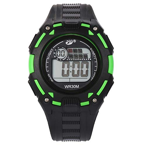 WoCoo Digital Watch,Girls Boys Sports Waterproof LED Watches Multi-Functional WristWatches,Relojes para hombres y mujeres(Blue,Sport/Waterproof)