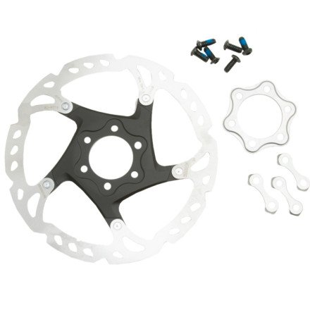 (SHIMANO SM-RT76 Disc Brake Rotor - 6-Bolt Sm-Rt76, 6-Bolt, 160mm, One Size)