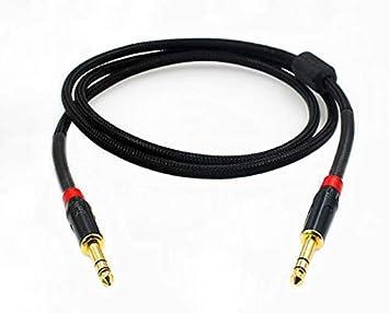 MiCity - Cable coaxial para micrófono (Macho de 6,5 mm a Macho de ...