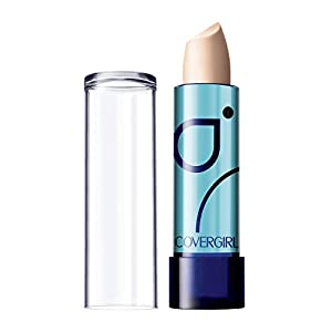 COVERGIRL Smoothers Moisturizing Concealer, 1 Tube (0.14 oz), For Fair Skin Tones, Solid Stick Concealer, Fragrance Free, Moisturizing
