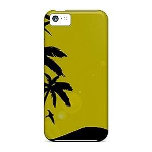 High Grade MichelleNCrawford Flexible Tpu Case For Iphone 5c - Beach