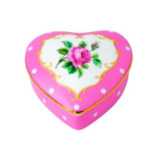 Royal Albert Heart Box, Small, Cheeky Pi - Royal Albert Keepsake Shopping Results