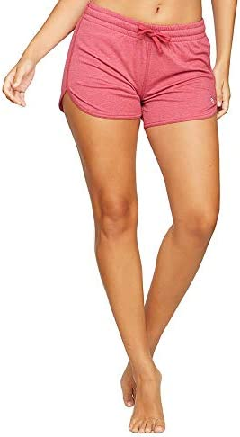 Colosseum Active Womens Simone Cotton Blend Yoga and Running Shorts
