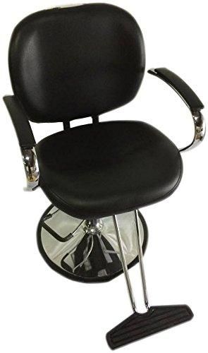 Sleek Modern Hydraulic Barber Chair Styling Salon Beauty - ds-sc7001-black by D Salon