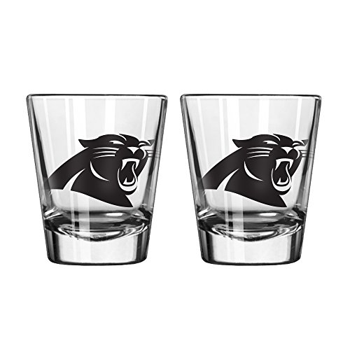 NFL Carolina Panthers Game Day Shot Glass, 2-ounce, - Glasses Panther