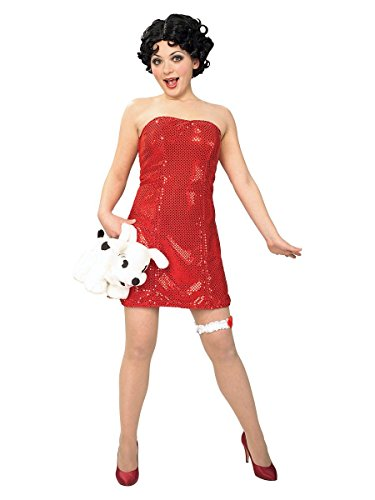 Women's Betty Boop Costume (Betty Boop Adult Costume)
