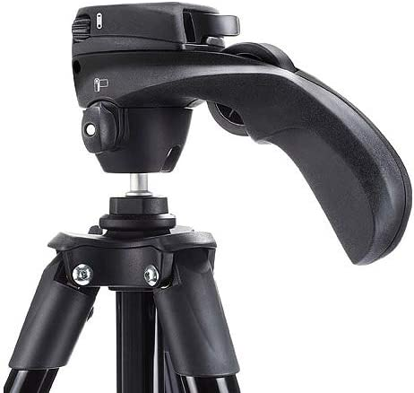 Black Manfrotto Compact Advanced Aluminum 5-Section Tripod Kit with 3-Way Head MKCOMPACTADV-BK