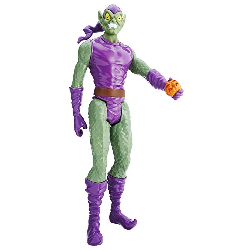 Marvel Spider-Man Titan Hero Series Villains Green Goblin Figure (Spider Man Green)
