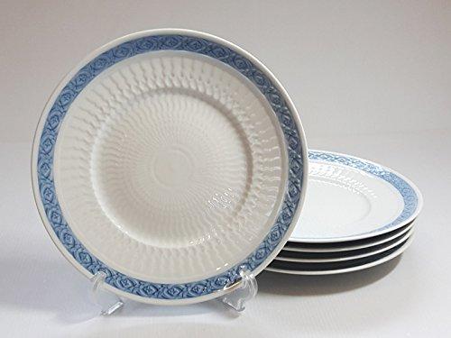 ロイヤルコペンハーゲン プレート■ブルーファン ランチプレート 5枚セット 皿 レア Blue Fan 1級品 1 B076K886GV
