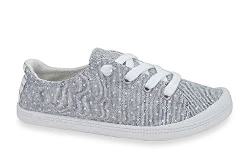 Jellypop Womens Dallas Sneaker Greydots 9.5 B (m) Ons