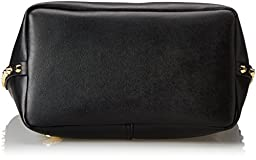 Vince Camuto Evie Travel Tote, Black/Black, One Size