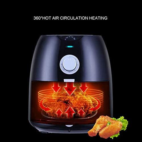 zyl Friteuse à air de Grande capacité 4.5L friteuse électrique Intelligente sans Vapeur d'huile ménage Multifonctionnel Frites Machine Doublure de poêle antiadhésive