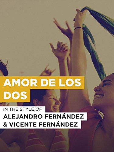 Amor De Los Dos (Amor Karaoke)