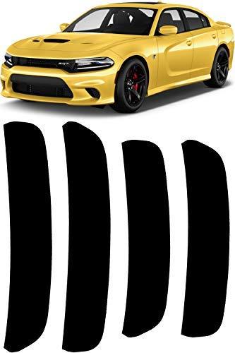 - JDL Autoworks 2015-2018 Dodge Charger Side Marker Tint Kit   Precut Dark Black Smoke Vinyl Overlays for '15-'18 Dodge Charger Models   Dry Application Sidemarker Reflector Tint Film