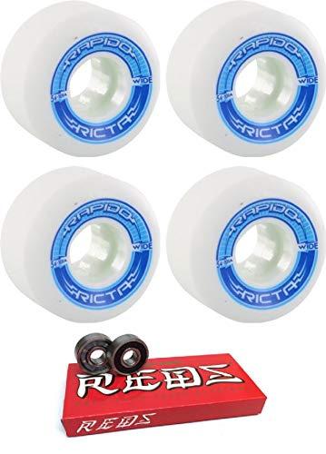 お得セット Ricta 54mm ウィール - Rapido Rapido ワイドスケートボードホイール ボーンベアリング付き - 8mm 2個セット ボーンスーパーレッド スケート用定格スケートボードベアリング - 2個セット B07HRKP1HR, 時計メガネレンズのプライムアイズ:b6e088f8 --- mvd.ee