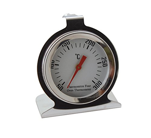 De Buyer Professional Stainless Steel Oven Thermometer for Temperatures 575 degrees Fahrenheit or 300 degrees Celsius 4885.01