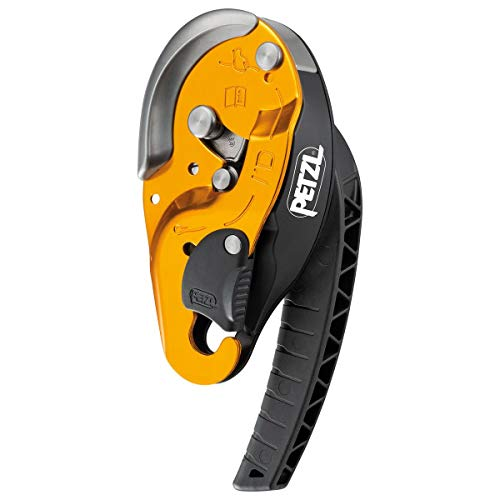PETZL - I'd S Descender/Belay Device, Yellow, Small