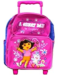 Dora 16 Large Rolling Backpack/ a Great Day
