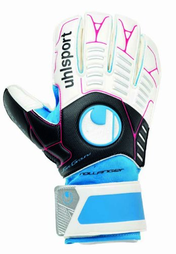 Uhlsport Player (Uhlsport Ergonomic Soft Roll Finger Goalkeeper Glove, 10)