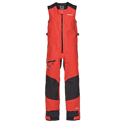 2016 Musto MPX Race Salopettes in Fire Orange SM0013 Size - - Extra Extra Large (Race Musto Mpx)