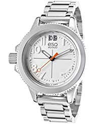 Esq Movado 7101404 Womens Fusion Stainless Steel White Dial Watch
