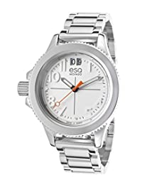 Esq Movado 7101404 Women's Fusion Stainless Steel White Dial Watch