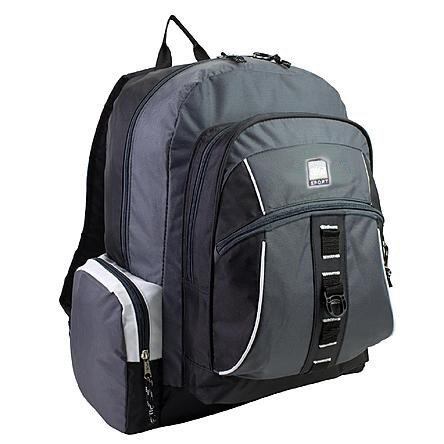 AKA Sport | Voyager Backpack in Charcoal Grey (20''L x 13.5''W x 8''H) by AKA Sport