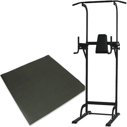 リーディングエッジ ホームジム ST 保護マットセット 懸垂器具 腹筋 腕立て運動可能 マルチジム LE-VKR02   B01EK8WUGO