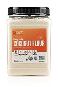 Amazon.com : BetterBody Foods Organic Coconut Flour - A