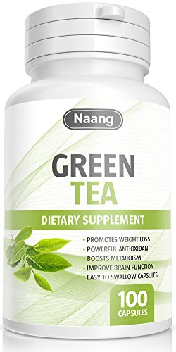 Green Tea Extract 400mg 100 Capsules Supplements