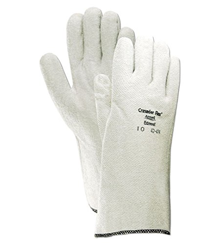 Ansell 424749 Crusader Flex 42-474 Nitrile-Coated Hot Mill Gloves, 14