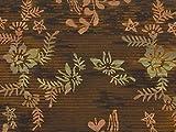 Batik Sarong - Olive Green Floral, Heavy Rayon