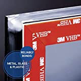 "3M VHB Heavy Duty Mounting Tape 4910, Clear, 1/2"" x"