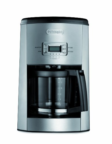 Drip Coffee Maker With Timer : DeLonghi DC514T 14-Cup Programmable Drip Coffeemaker New 443874251 eBay